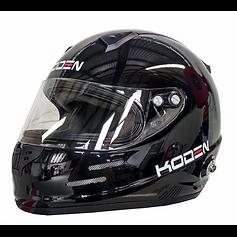 Hawke motorsport koden helmet black.png