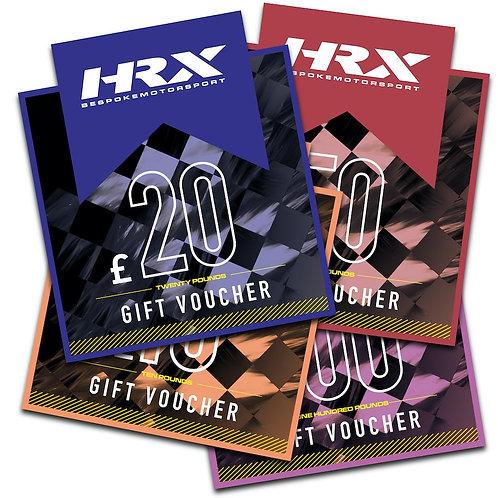 HRX £10 Gift Voucher