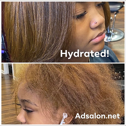 Cut & Color (Relaxed Hair)