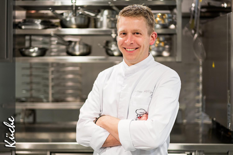 Küchenchef Oliver Häfliger