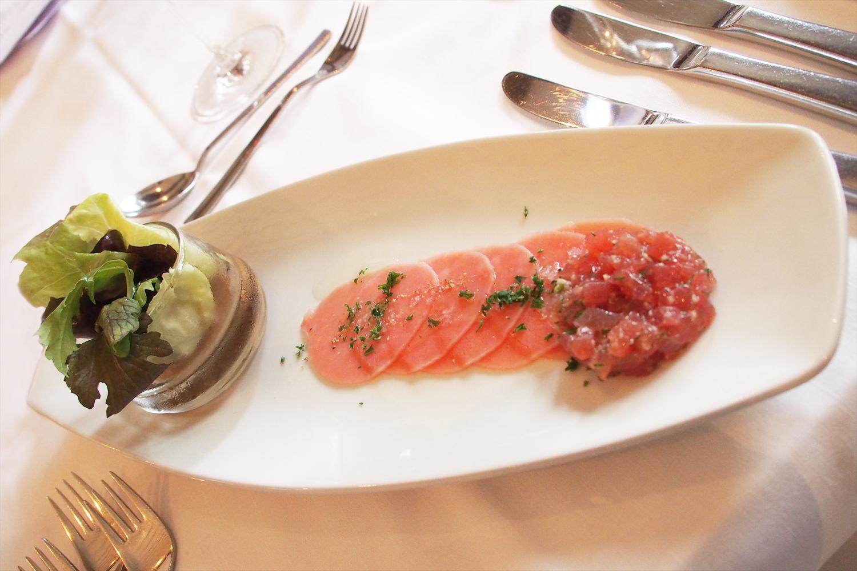 Thunfisch-Carpaccio