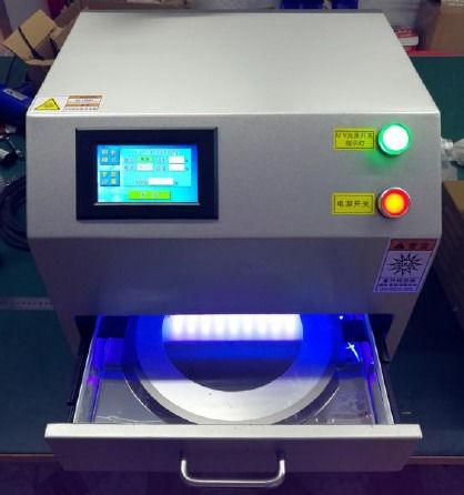 LED UV Cure machine for wafer and wafer frame UV irradiation
