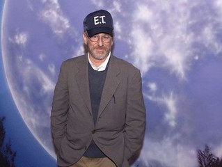 Steven Spielberg gives ET showing approval in Jersey