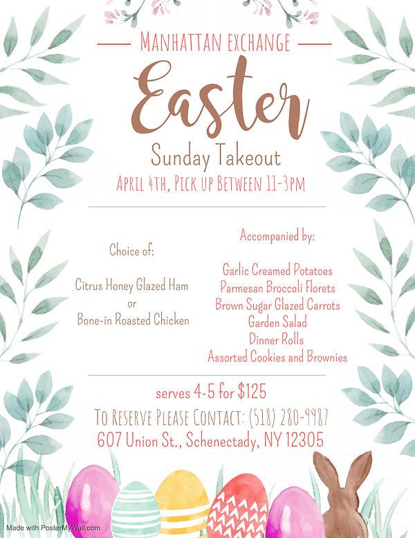 Copy of Easter Childrens Menu Design - M