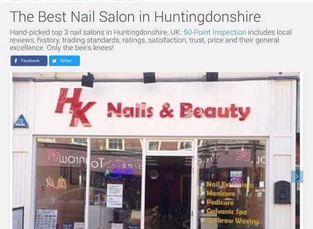 The Best Nail Salon in Huntingdonshire