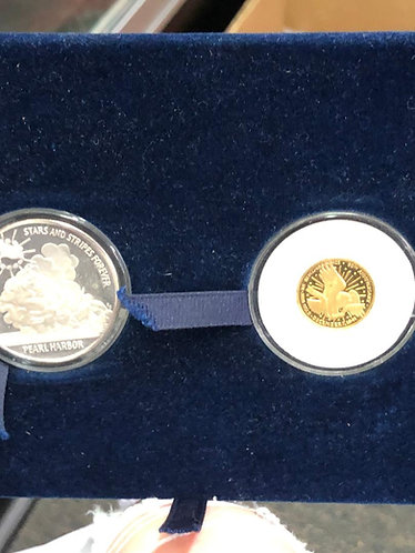 Pearl Harbor Commemorative Coin Set