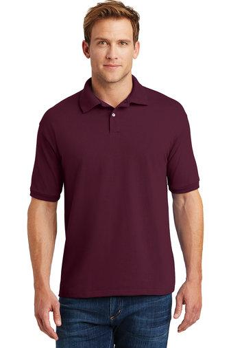 Hanes® EcoSmart® - 5.2-Ounce Jersey Knit Sport Shirt