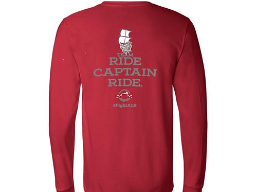 3501 - Bella + Canvas - Unisex Jersey Long-Sleeve T-Shirt -Cherry Red