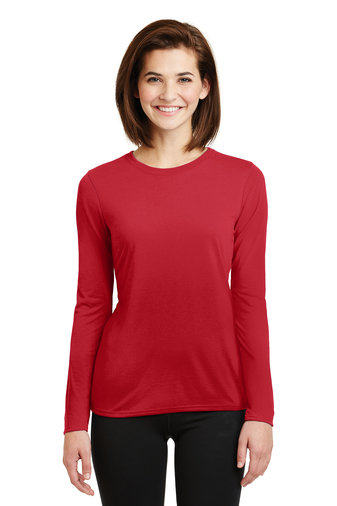 Gildan® Ladies Gildan Performance® Long Sleeve T-Shirt