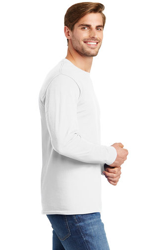Hanes® - Tagless® 100% Cotton Long Sleeve T-Shirt