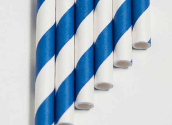 Cobalt Blue Striped