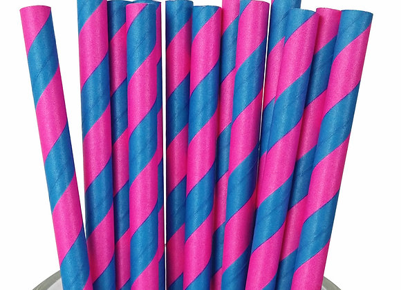 Pink and Blue Striped