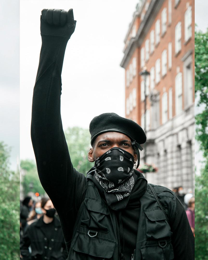 Black Lives Matter, London 2020