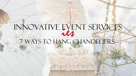 7 Ways to Hang Chandeliers