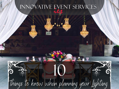 10 Things to Know When Planning your Lighting