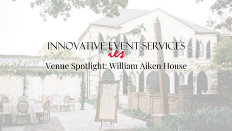 Venue Spotlight: William Aiken House