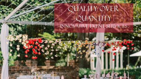 Choose Quality Over Quantity