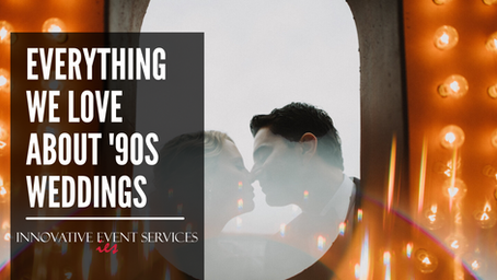 Everything We Love About '90s Weddings