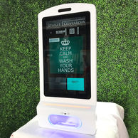 Touchless Hand Sanitizer Station