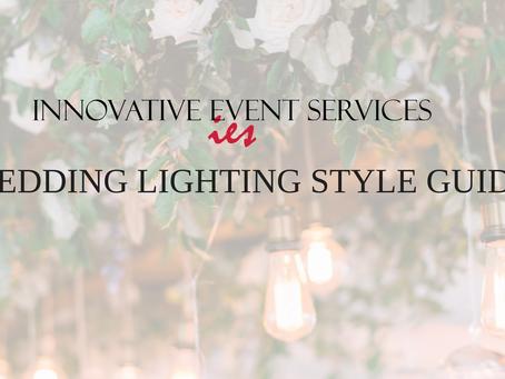 Wedding Lighting Style Guide