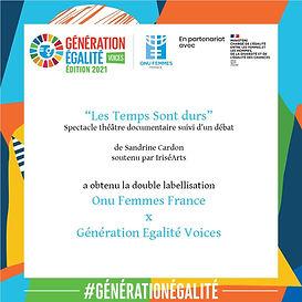 Generation Egalite