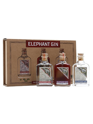 Elephant Gin Miniatures (3 pack gift set)