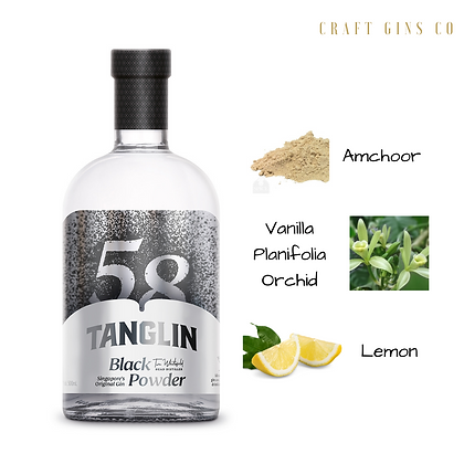 Tanglin Black Powder Gin