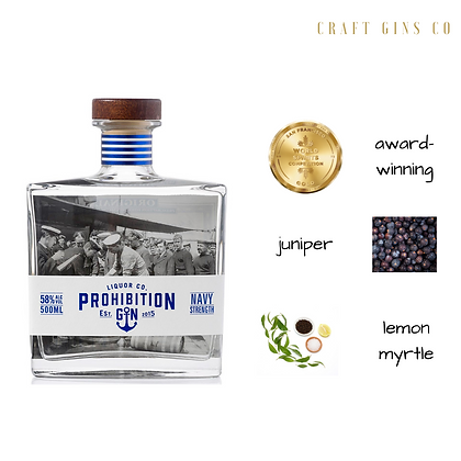 Prohibition Navy Strength Gin