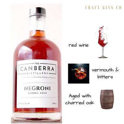 Canberra Distillery Barrel Aged Negroni