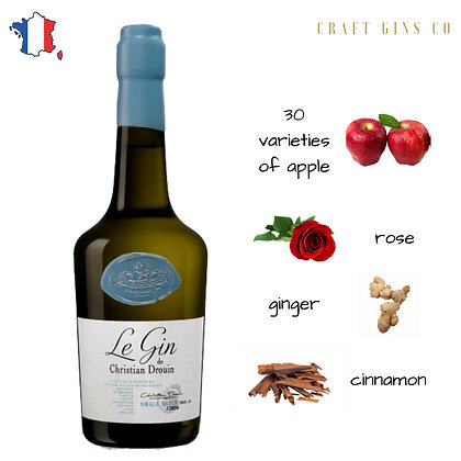 Le Gin by Christian Drouin (apple gin)