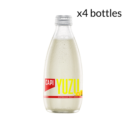 Capi Yuzu Soda x4 (250ml)