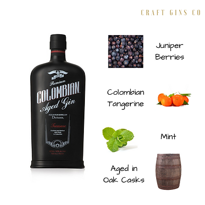 Colombian Dictator Treasure Gin