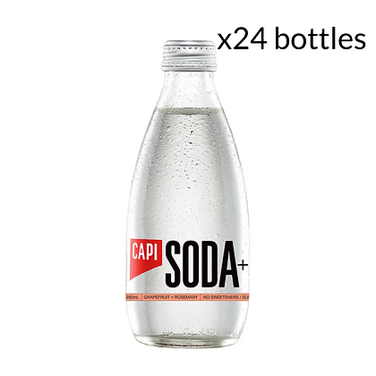 Capi Grapefruit & Rosemary Soda x24 (250ml)