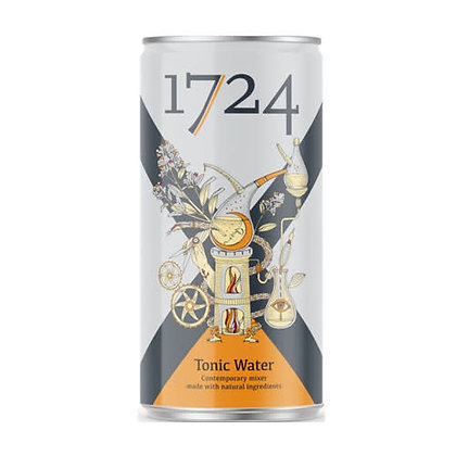 1724 Spanish Tonic Water (4 cans x 200ml)