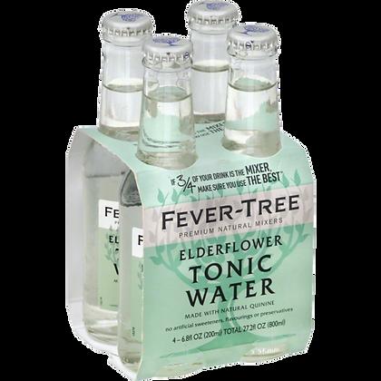 Fever Tree Elderflower Tonic (Pack of 4)