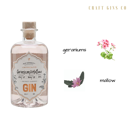 Old Curiosity Geranium & Mallow gin