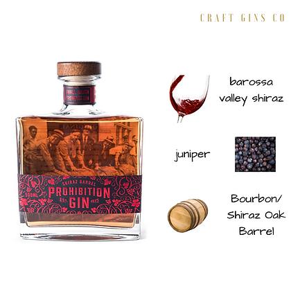 Prohibition Shiraz Barrel Aged Gin