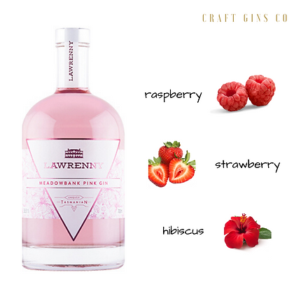 Lawrenny Meadowbank Pink Gin