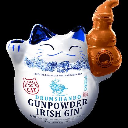 Huat Cat Ceremic Drumshanbo Irish Gunpowder Gin