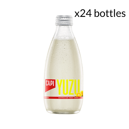 Capi Yuzu Soda x24 (250ml)