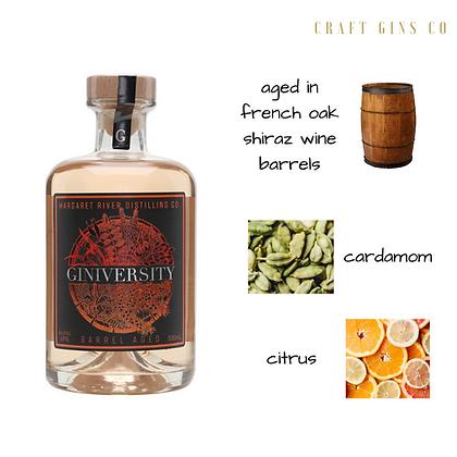 Giniversity Barrel Aged Gin
