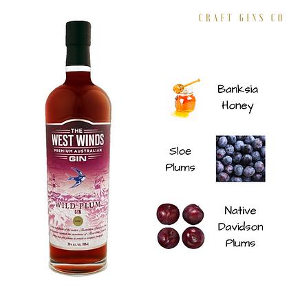 West Winds Wild Plum Gin