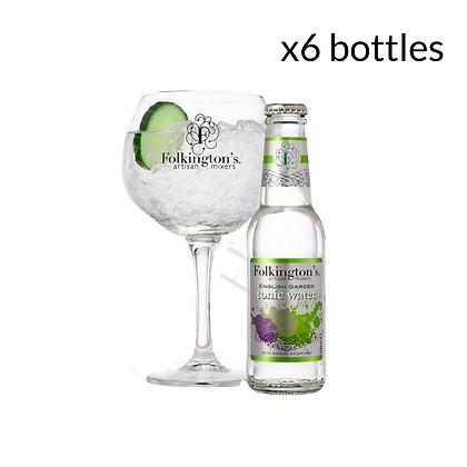 Folkington's English Garden Tonic (6 bottles)
