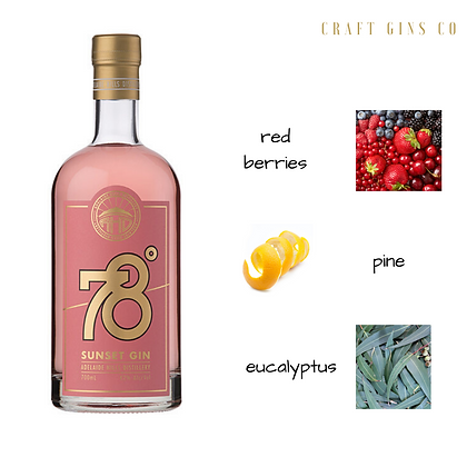 78 Degrees Sunset Gin