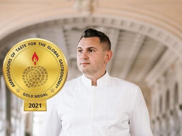 Кулінарний дипломат: Шеф-кухар Юрій Ковриженко став Почесним послом смаку у світовій гастрономії
