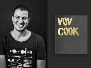 VOVCOOK BOOK: Шеф-кухар Вова Ташаєв випускає кулінарну книгу-артбук