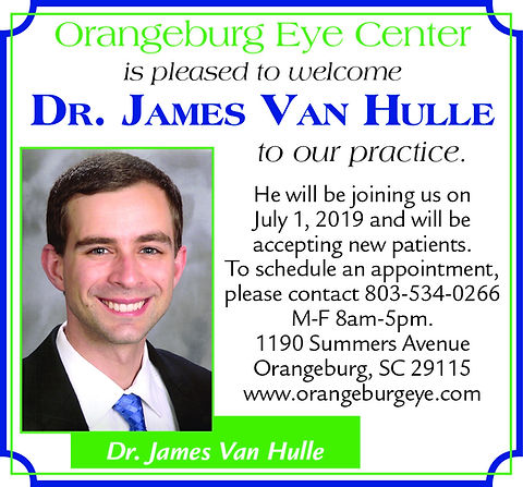 2x3 Welcome Dr. Hulle June 2019 color ad