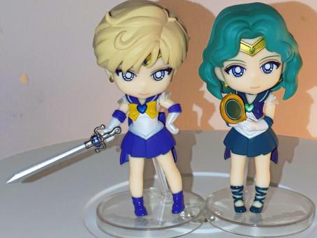 Sailor Uranus and Neptune Figuarts Mini