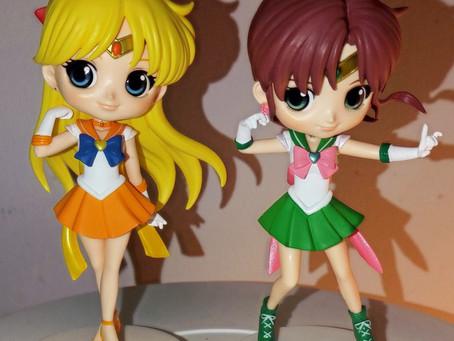 Super Sailor Jupiter and Venus Q Posket