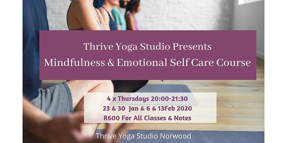 Mindfulness & Emotional Self Care